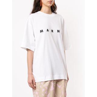 マルニ(Marni)のMARNI ロゴ Tシャツ 36 19ss(Tシャツ(半袖/袖なし))