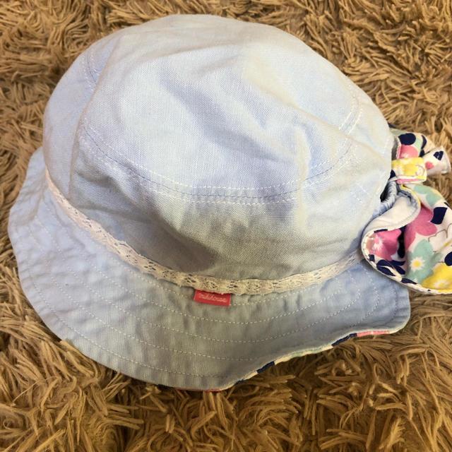 mikihouse(ミキハウス)のミキハウス帽子 Sサイズ  48〜50センチ キッズ/ベビー/マタニティのこども用ファッション小物(帽子)の商品写真