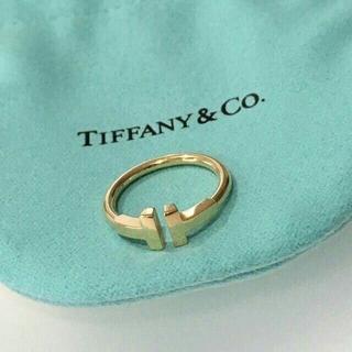 ティファニー(Tiffany & Co.)の超人気 Tiffany Tワイヤーリング(リング(指輪))