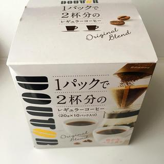 ドトール 1パックで2杯分のレギュラーコーヒー 1箱