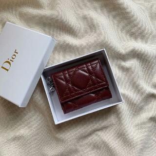 ディオール(Dior)のお勧め DIOR  ディオール  レディース 折り財布 美品(財布)