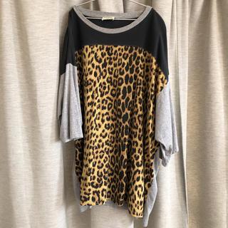 サンローラン(Saint Laurent)のサンローラン レオパードT 16ss(Tシャツ/カットソー(半袖/袖なし))