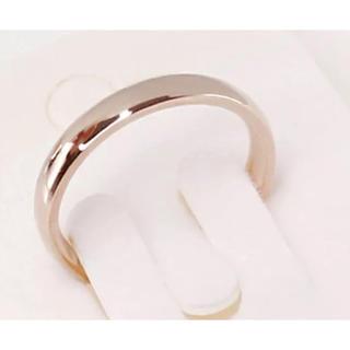 ローズゴールド リング 指輪 サージカルステンレス(リング(指輪))