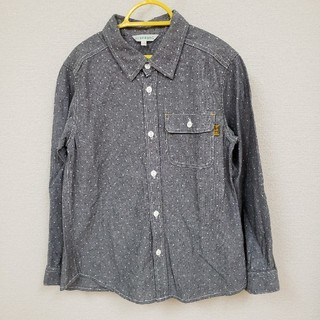 サンカンシオン(3can4on)の3can4on☆長袖デニムシャツ130㎝(Tシャツ/カットソー)