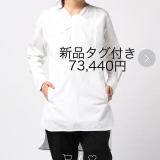 カルヴェン(CARVEN)の新品タグ付 CARVEN コットンシャツ(シャツ/ブラウス(長袖/七分))
