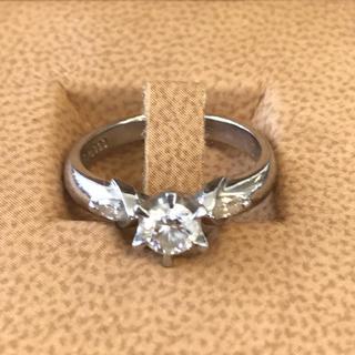 ダイヤリング プラチナ900 ダイヤモンド0.358キャラット 5g 9号(リング(指輪))