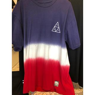 ハフ(HUF)の新品 値下げ交渉可能!!ハフ HUF グラデーション Tシャツ(Tシャツ/カットソー(半袖/袖なし))