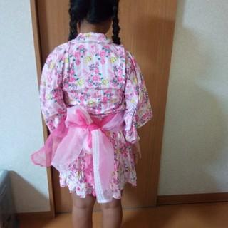 Barbie - 浴衣ドレス 130センチ