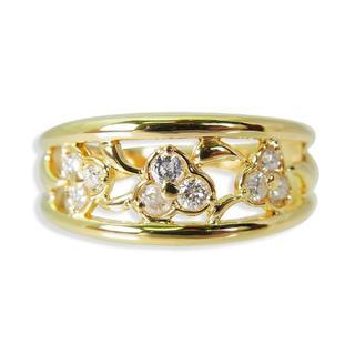 K18 ダイヤモンド リング 14号 [f396-5] (リング(指輪))