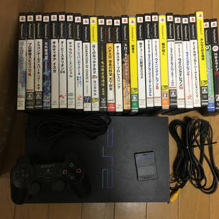 PlayStation2 - ps2本体とソフト26本セット SCPH-10000