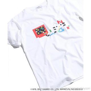 ハローキティ(ハローキティ)のキティちゃん、コラボ、Tシャツ(Tシャツ(半袖/袖なし))