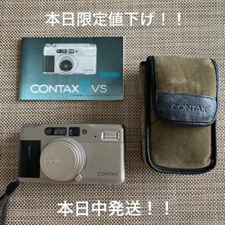 キョウセラ(京セラ)のCONTAX TVS コンタックス tvs(フィルムカメラ)