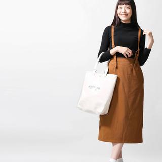 ウィゴー(WEGO)の細コールサス付きナロースカート(ひざ丈スカート)