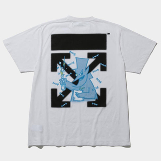 OFF-WHITE FRAGMENT CEREAL T-SHIRTS ホワイト