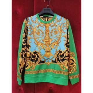 ヴェルサーチ(VERSACE)の Versace ヴェルサーチ メンズ 長袖Tシャツ 美品カジュアル (Tシャツ/カットソー(七分/長袖))
