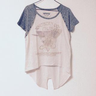 ミスティウーマン(mysty woman)の燕尾デザイン♡ラグランT(Tシャツ(半袖/袖なし))