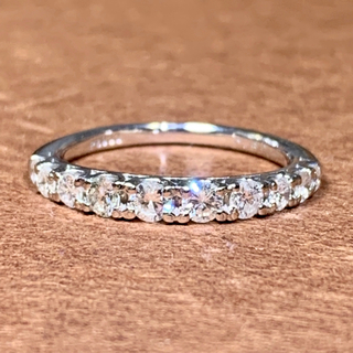 エタニティリング ダイヤモンド0.50カラット プラチナ ダイヤモンドリング(リング(指輪))