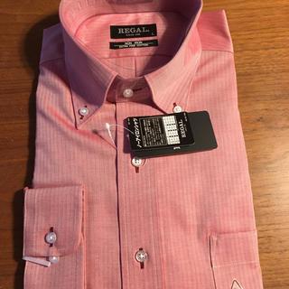 リーガル(REGAL)のワイシャツ  ワインレッド REGAL Lサイズ(シャツ)