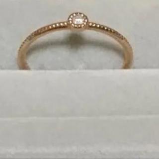 SIENA k18  ダイヤリング(リング(指輪))