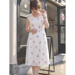 MERCURYDUO - 新品 定価¥16,200 mercuryduo レース刺繍ワンピース