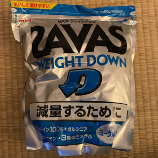 ザバス(SAVAS)のザバス ウェイトダウン プロテイン ダイエット用(プロテイン)
