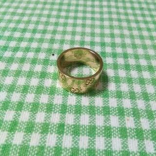 グッチ(Gucci)のGUCCIアイコンリング k18(750)YG  8.6g(リング(指輪))