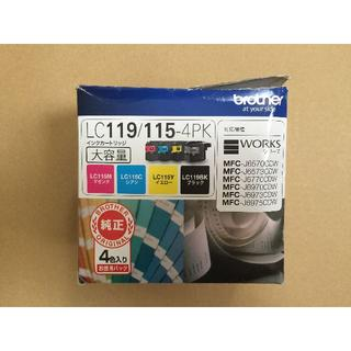 brother - 新品 ブラザー 純正インク LC119/115-4PK 4色パック