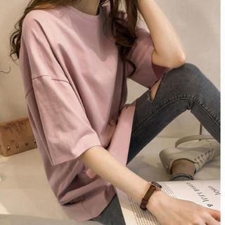 Tシャツ   韓国ファッション(Tシャツ(長袖/七分))