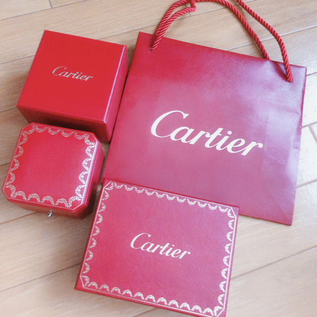 Cartier(カルティエ)のカルティエリング レディースのアクセサリー(リング(指輪))の商品写真