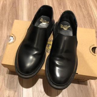 ドクターマーチン(Dr.Martens)のドクターマーチン CORE LOUISE GUSSET シューズ 黒 (ローファー/革靴)