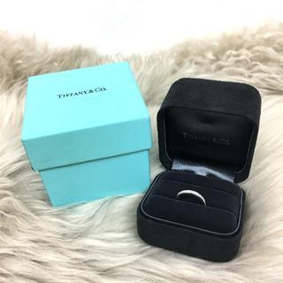 ティファニー(Tiffany & Co.)のティファニー ウェディング バンドリング Pt950(リング(指輪))