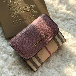 BURBERRY - 大人気 Burberry 財布 レデイース 折り財布
