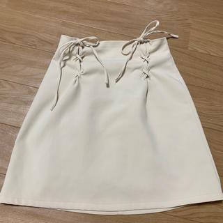 ワンアフターアナザーナイスクラップ リボンスカート