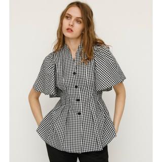 スライ(SLY)の【SALE】SLYスライ♡フレアスリーブスキッパーシャツ♡マルチ1(Tシャツ(半袖/袖なし))