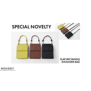 マウジー(moussy)のMOUSSY最新ノベルティ♡リアルレザー2wayバッグ♡ショルダー&ハンドバッグ(ショルダーバッグ)
