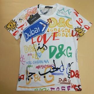 ドルチェアンドガッバーナ(DOLCE&GABBANA)の超美品!Dolce & Gabbana メンズ Tシャツ 夏コーデ ファッション(Tシャツ/カットソー(半袖/袖なし))