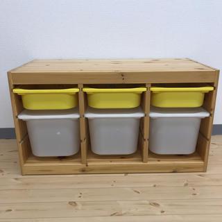 イケア(IKEA)のイケア 子供おもちゃ棚TROFAST トロファスト フレーム, (収納/チェスト)