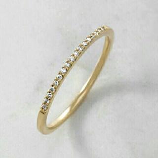 アガット(agete)のアガット ハーフエタニティ ダイヤリング (リング(指輪))