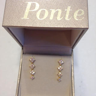 PonteVecchio - K18☆ポンテヴェキオ☆ダイヤモンドピアス
