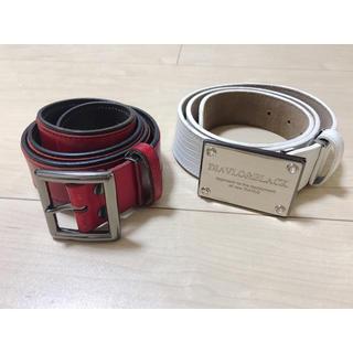 Diavlo - ベルト 2本セット 赤 白