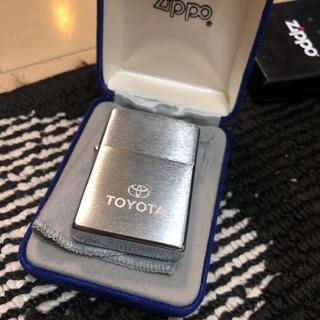 ジッポー(ZIPPO)のZIPPO トヨタ自動車 ノベルティグッズ 非売品!(ノベルティグッズ)