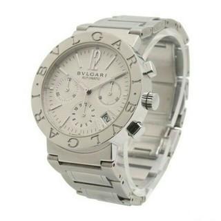 BVLGARI - 新品 ブルガリ BVLGARI メンズ 文字盤 ホワイト 自動巻き 腕時計