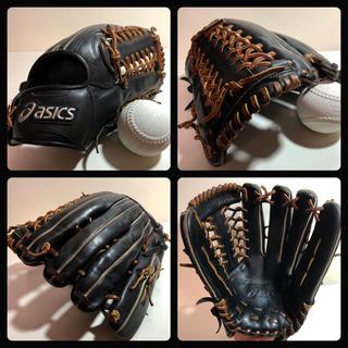 asics - ◆即戦力◆ asics 一般軟式 外野 野球 グローブ 新品 ボール付 迅速発送