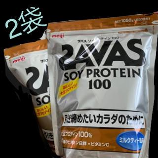 ザバス(SAVAS)のザバス ソイプロテイン ミルクティー 2袋(プロテイン)