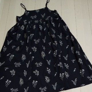 SM2 - 新品 TSUHARU 綿麻刺繍キャミワンピース