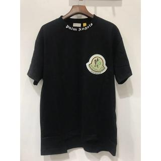 MONCLER - MONCLER*PALM ANGELS 19AW ビックロゴパッチ Tシャツ