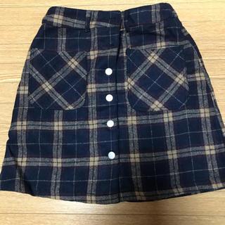 ローリーズファーム(LOWRYS FARM)のLOWRYSFARM  チェック柄スカート(ミニスカート)
