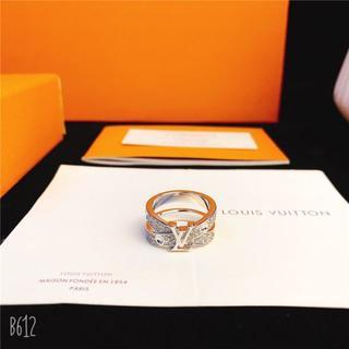 LOUIS VUITTON - ルイヴィトン ファッション メンズ シルバー金具 リング指輪