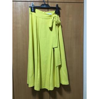 アメリヴィンテージ(Ameri VINTAGE)の✨美品✨ameri リネン混スカート(ひざ丈スカート)