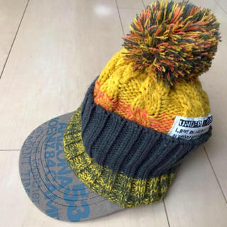 アンパサンド(ampersand)のアンパサンド  ベビーニット帽 ポンポン 帽子 ニット帽 キャップ(帽子)